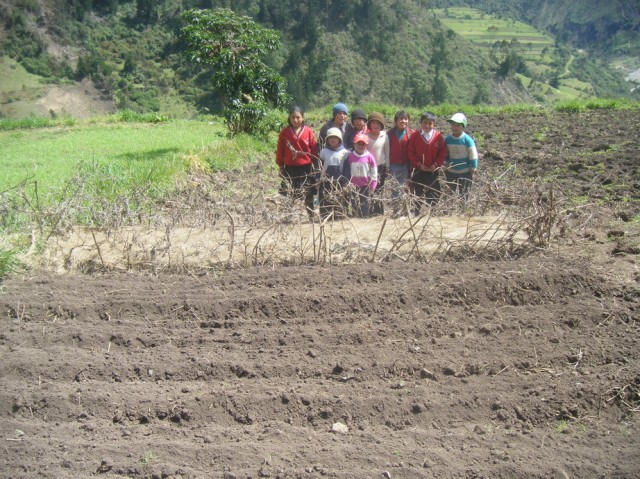 Agricultural activities in the schools of Varaspamba and Pinipala