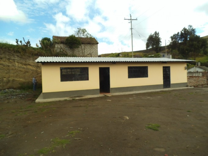 Delivery of the new Classroom for Balda Lupaxi