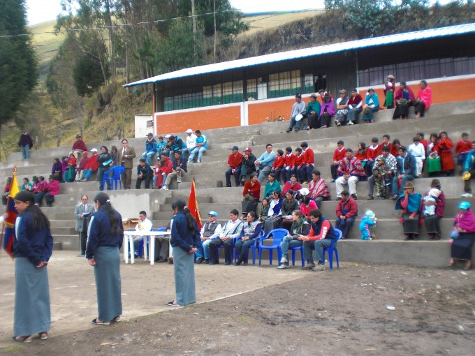 Opened the Stands of the Community Cagrin