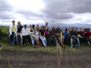 Summer project with volunteers from Reed College, Oregon, USA