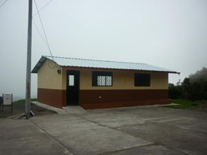The new classroom in Chisaló (Cotopaxi Province)