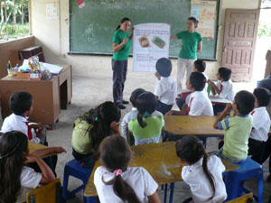 Recycling Workshop in Nueva Union