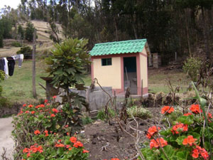 Bathrooms and laundries for the Pilahuaico Community