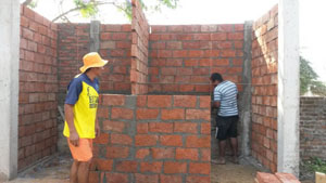 "New restrooms in the school ""Juntos Venceremos"" of Chone"