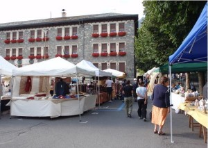 Flea market in Bormio (SO)