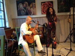 Sergio and Dilene 's gig in Austria