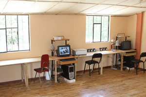 New computer room for the school in Tepeyac Bajo