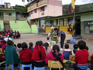 Theater in indigenous communities in the province of Chimborazo