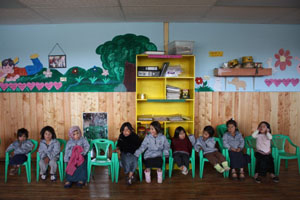 Inauguration of the new kindergarten of Esperanza