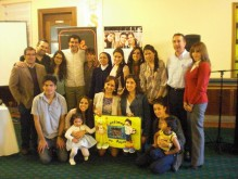 Professors, students, representatives of the Orphanage and members of  Ayuda Directa