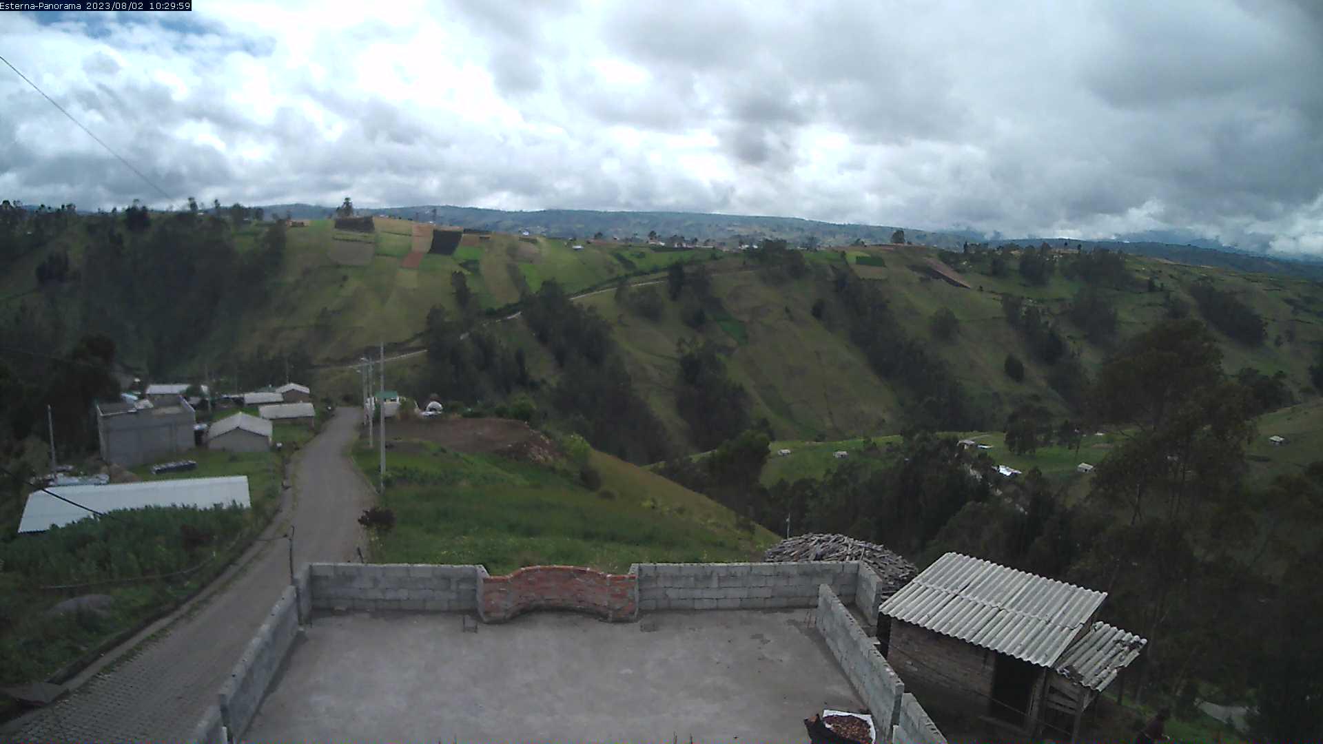 La Esperanza - Panorama Vulcani