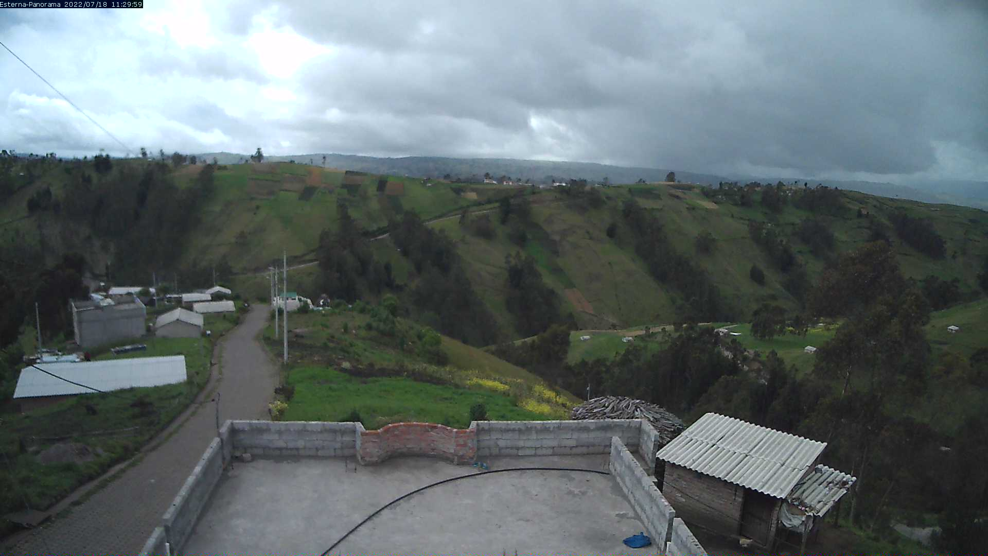La Esperanza - Panorama Volcanes